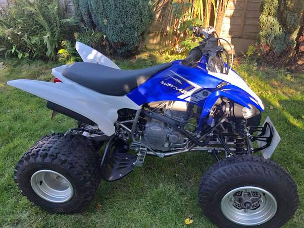Yamaha Raptor YFM250R 63 plate Road Legal Quad ATV 12 MOT
