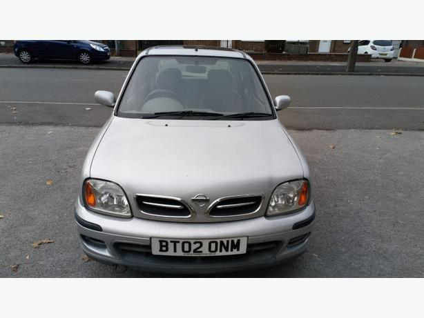 2002 Nissan Micra 1.4 only 49k miles
