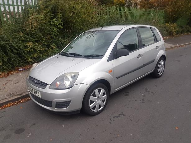 2007 FIRD FIESTA 1.2 MOT DEC DRIVES GOOD £490 ,NO OFFERS NO LAST PRICE
