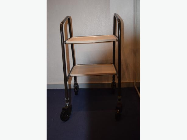Metal Framed Wheeled Trolley