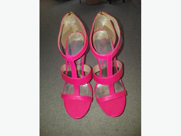 Pink Lipsy Heels Size 5