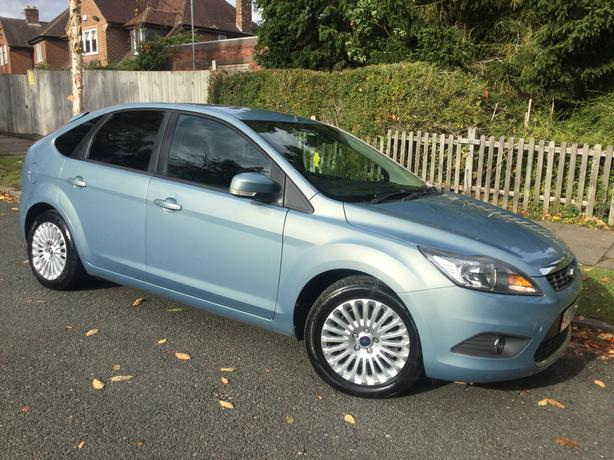 Ford Focus 1.8 TDCi 115 Titanium 5dr hatch - PMDSH & long MOT !