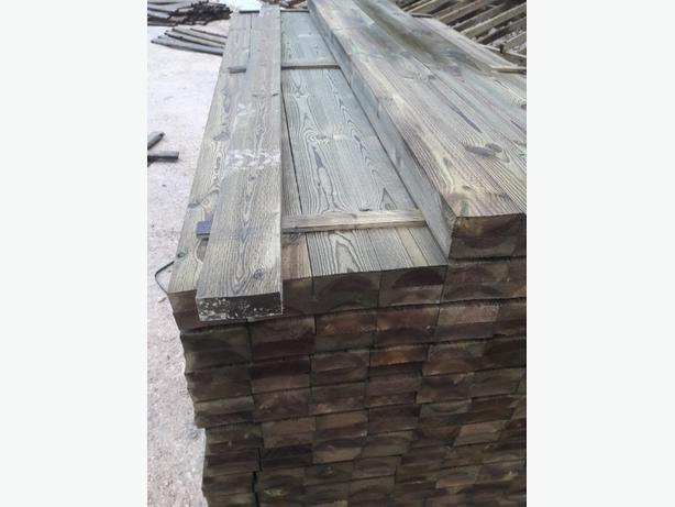 4 x 2 treated timber.