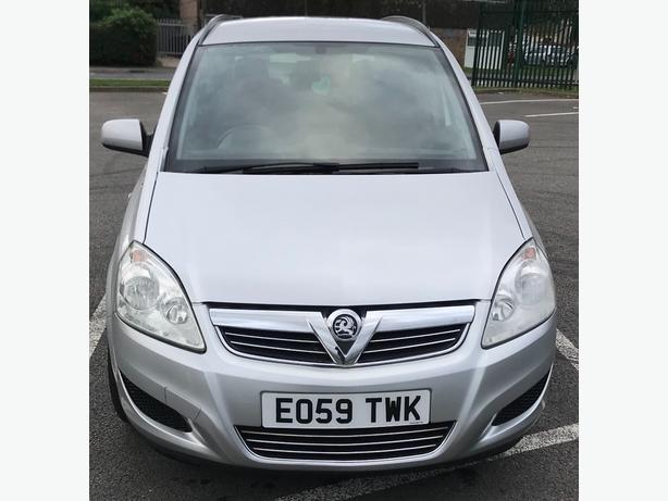 Vauxhall Zafira 1.6i 16v life  5dr Mpv 7 Seater petrol Manual