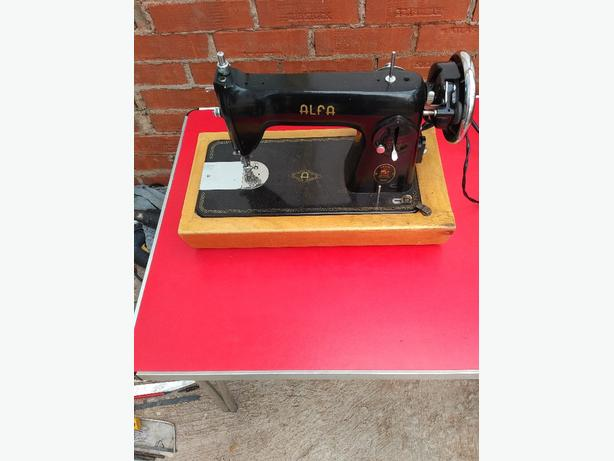 Alfa Semi Industrial Sewing Machine Willenhall Dudley Simple Alfa Model 50 Sewing Machine