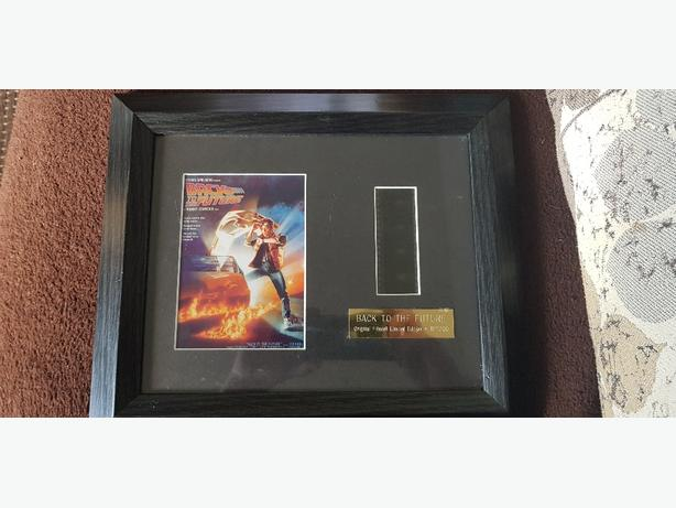 Back to the future filmcell limited edition