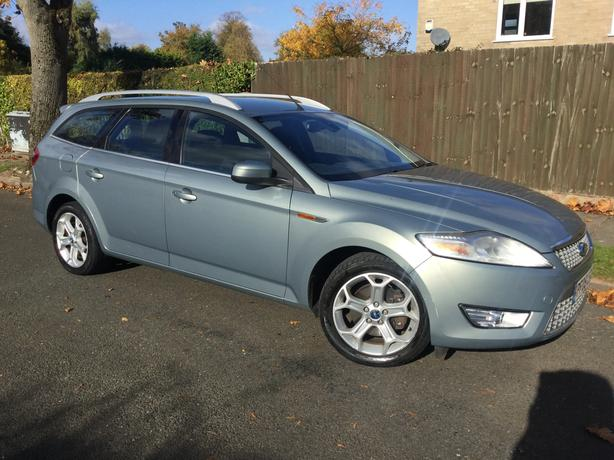 Ford Mondeo 2.0 TDCi 140 Titanium estate with FSH & long MOT !
