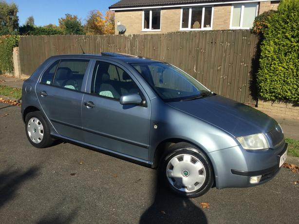 Skoda Fabia 1.9 TDi 100 Comfort hatch with FSH & long MOT !
