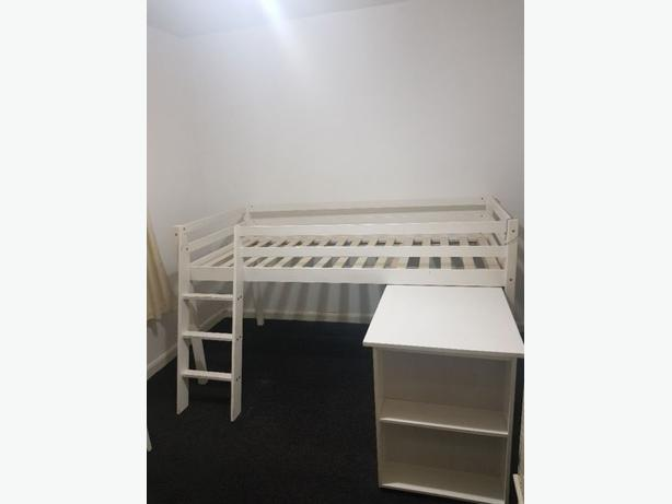 Mid Sleeper With Desk