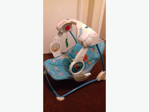  Log In needed £8 · FISHER PRICE BABY SWING