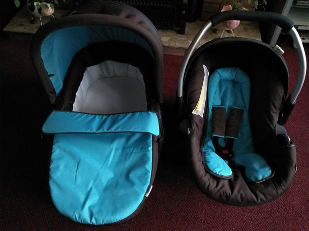 Car seat and pram carrier