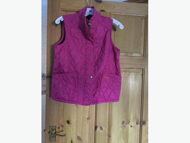 Girls Barbour gilet waistcoat