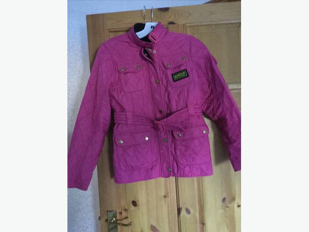 Girls Barbour coat