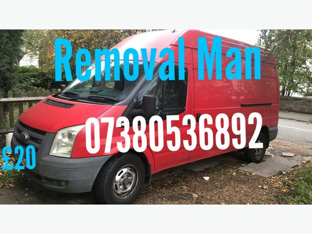 man with a Large van
