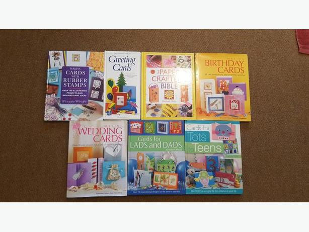 Variety of 7 Card Making Craft Books
