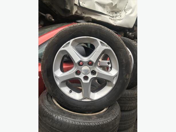FORD FOCUS/MONDEO 16 INCH ALLOY WHEELS - 205/55 R16