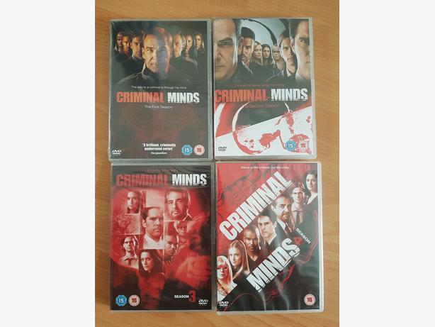 Criminal Minds Seasons 1-4