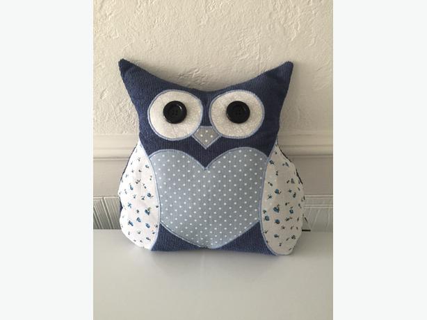 Handmade Small Owl Cushion