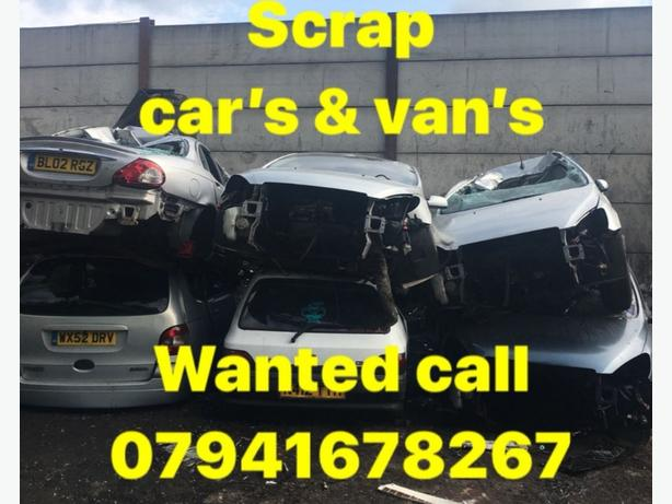 FOR TRADE: scrap cars mot fail damaged car best price payed