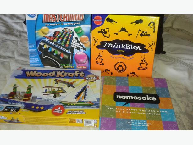 4 boxed games