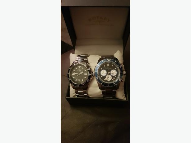 rotary watches x2