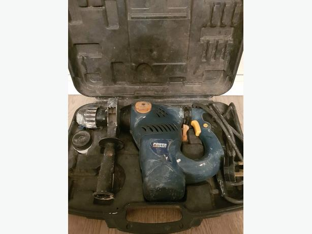 Boxed power craft sd nomatic hammer drill