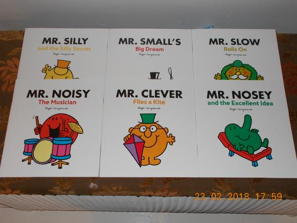 Mr Men books 6 in set Paperback Brand New
