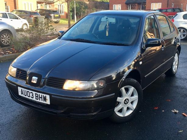 2003 SEAT LEON 1.6 16V good runner bargain