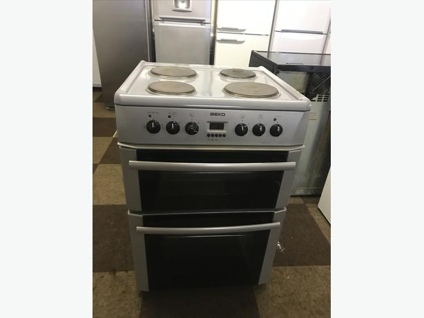60 CM GREY ELECTRIC COOKER WITH GUARANTEE