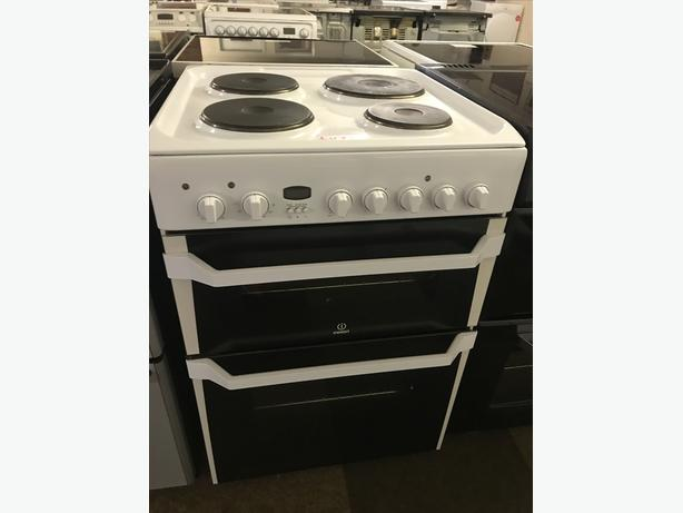 INDESIT 60 CM WIDE ELECTRIC COOKER WITH GUARANTEE