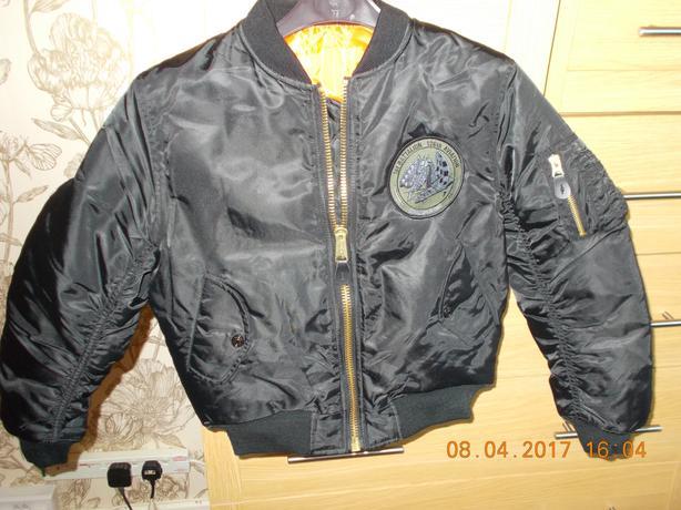 Child's Flying Jacket USA Size 6 UK 9 Yrs Jacket Flyers Men Intermediate MA-1