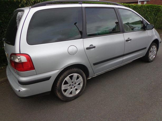 AUTOMATIC 54 reg 7 seat ford galaxy 1.9 diesel+runs+drives+needs attention
