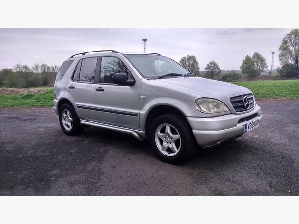mercedes ml320 auto  7 seater, 10 months mot, starts runs drives