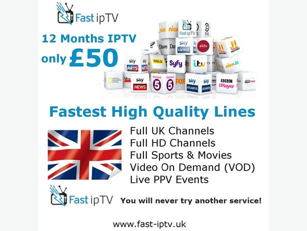 12 Months Warranty Subscription IPTV