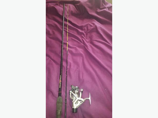 feeder rod and reel