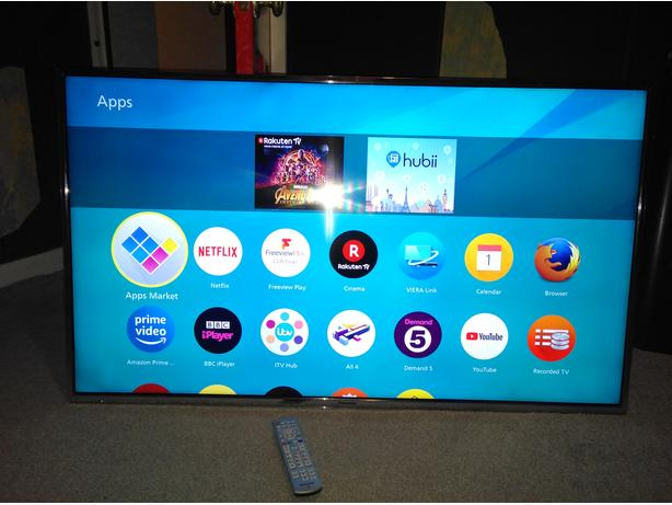 Panasonic 55 inch LED 4K UltraHD Smart TV with WiFi, Firefox