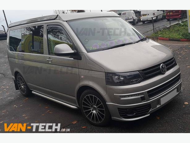VW T5 to T5.1 Accessories side bars, front end kit and roof rails!