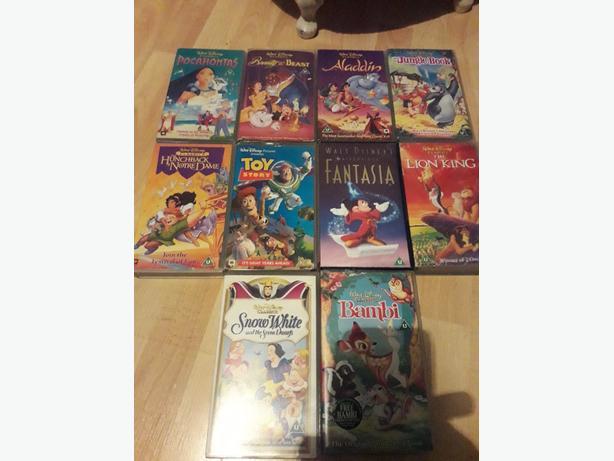 Ten Disney videos
