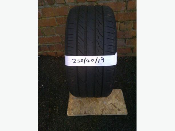 255 40 17 tyre