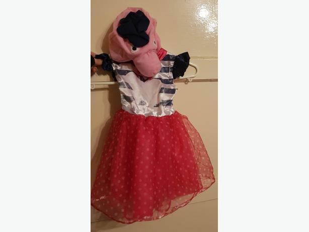 £1.50. Peppa pig dress up. 1-2-3 years