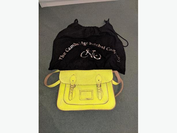 the Cambridge satchel