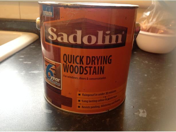 Sadolin quick drying woodstain