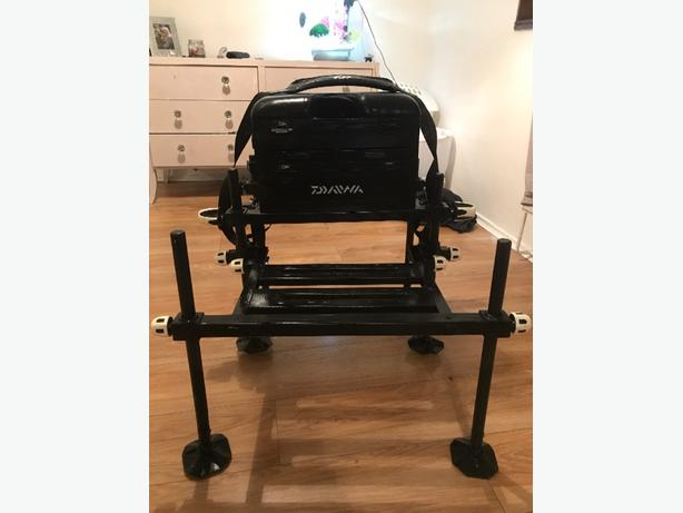  Log In needed £90 · fishing daiwa 75 seatbox and extras