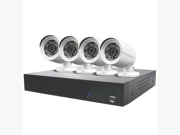 CCTV 4 camera 1080P  installed