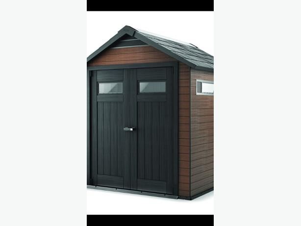 WANTED: GARDEN SHED KETER FUSION / OAKLAND PLASTIC OR METAL