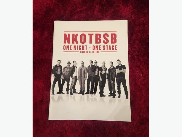 NKOTBSB Tour Book