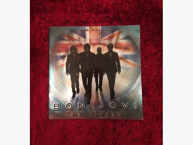 Bon Jovi Tour Book