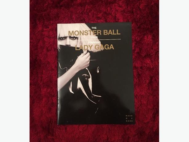 Lady Gaga Tour Book