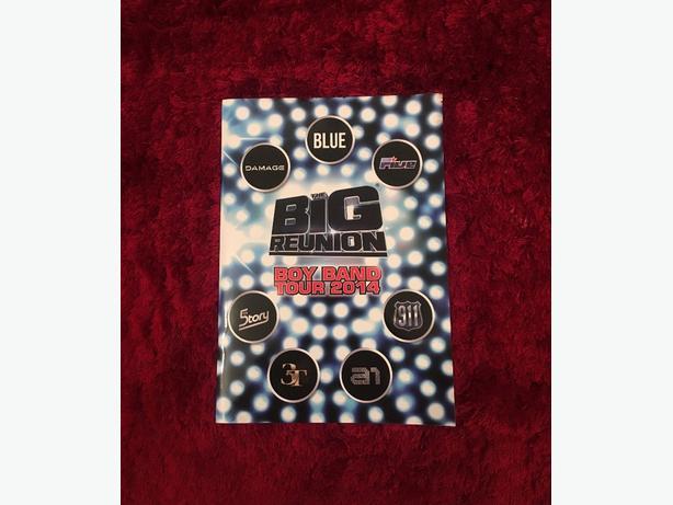 Big Reunion Tour Book