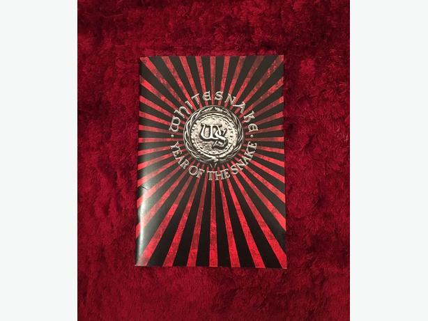 Whitesnake Tour Book